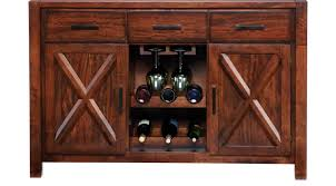 dining room table with wine rack sideboards u0026 buffet table furniture for sale