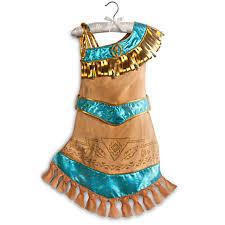 Pocahontas Costume Amazon Com Disney Store Princess Pocahontas Costume Dress Clothing