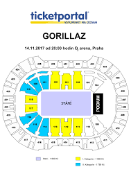 o2 arena floor seating plan o2 arena gorillaz humanz tour