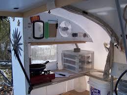 cer trailer kitchen ideas a real bike trailer house