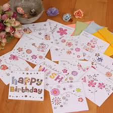 laser cut square greeting cards small birthday cards for
