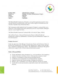 resume title exle cover letter how to write a resume for administrative assistant