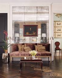home interior mirror smoke and mirrors in the living room of his manhattan home