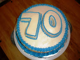70th birthday cake the precious 70th birthday party ideas for