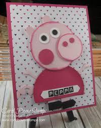stampingroxmyfuzzybluesox stampin u0027 peppa pig punch art darcy