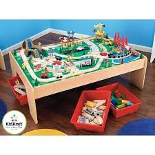 imaginarium classic train table with roundhouse wooden train set table toys r u waterfall mountain and imaginarium