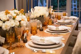 how to create your own thanksgiving tablescape molly sims