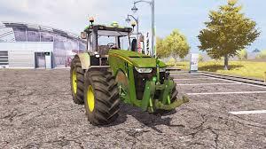 John Deere Tractor Game 8335r John Deere Tractor John Deere L La New Holland T6 John Deere   john deere 8335r for farming simulator 2013