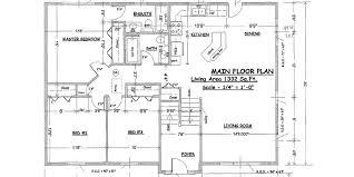 split entry house plans split entry 1332 ft donovan inc