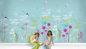 mural stunning designer wallpaper murals items similar to cherry