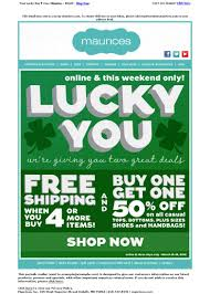 email marketing newsletters for st patrick u0027s day newsletter