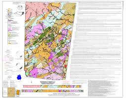 Map Of Asheville Nc Nc Deq Open File Reports And Maps