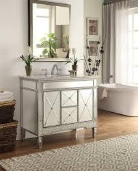 Bathroom Mirror Vanity Decorative Mirrored Bathroom Vanity Top Bathroom Eye Catching