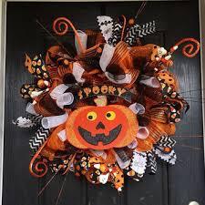 shop fall deco mesh wreaths on wanelo