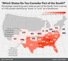 Of The South Which States Are In The South Fivethirtyeight