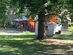 Georgia Backyard Store Fire Burns Through Kck Home Near 81st And Georgia Avenue Fox 4