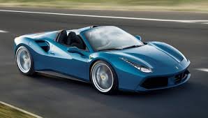 blue ferrari best of the best 2016 wheels convertibles ferrari 488 spider