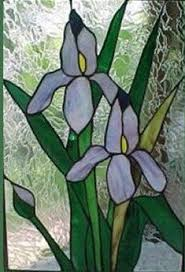 Flower Glass Design 162 Best Stained Glass Iris Images On Pinterest Stained Glass