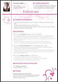 Resume Example With No Experience by Esthetician Resume Samples Free Resumes Tips