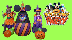 disney mickey u0027s not so scary halloween party super giant surprise
