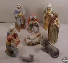 home interiors nativity set 10 piece home interior nativity set a savior is born 45178830
