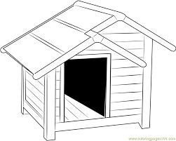 coloring page of a big dog big dog house coloring page free dog house coloring pages
