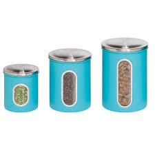 cook n home 8 piece stainless steel canister spice jar set amp