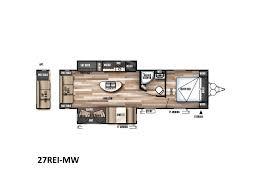 Wildwood Travel Trailer Floor Plans 2018 Forest River Wildwood 27rei Titusville Fl Rvtrader Com