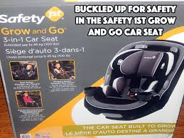 siege auto rear facing buckled up for safety in the safety 1st grow and go 3 in 1 car