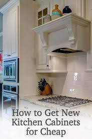 how to get new kitchen cabinets for cheap knotty alder