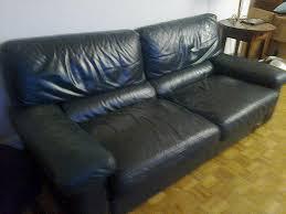comment teindre un canapé comment teindre un canapé en cuir canape cuir bleu ciel maison