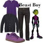 Beast Boy Halloween Costume Raven Teen Titans