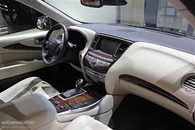 infiniti qx60 interior infiniti qx60 shows restyled exterior in detroit autoevolution