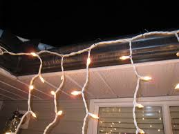 hanging christmas lights ne wall