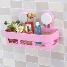 Pink Bathroom Storage Pink Plastic Bath Caddies Bathroom Storage Equipment Ebay
