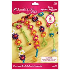 beaded bracelet girl images American girl crafts daisy design bracelets kit toys jpg