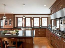 Design Ideas For Kitchens Without Upper Cabinets HGTV - Images of cabinets for kitchen