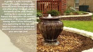 Water Fountain For Backyard - 5 types of outdoor water fountains that enhance the beauty of your ba u2026