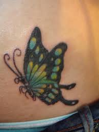 butterfly and flower on hip images pictures becuo