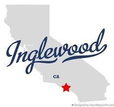 map of inglewood california map of inglewood ca california