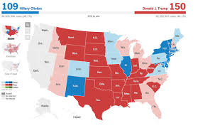 Election Map 2016 by The New York Times On Twitter