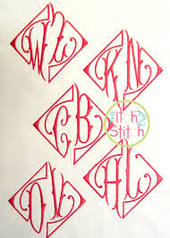 letter monogram two letter monogram font the itch 2 stitch