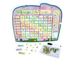 amazon com chore reward chart for multiple kids with magnetic
