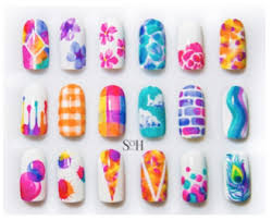 watercolor your nails with soh art beauty