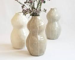 white vase white vases etsy