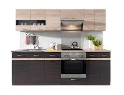 K Henzeile Beautiful Küchenzeile 220 Cm Mit Elektrogeräten Photos House