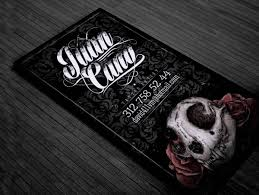 tattoo business cards 11 tattoo business card templates free