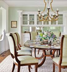Coastal Dining Room Table by Beach House Tour Traditional Massachusetts Beach Cottage