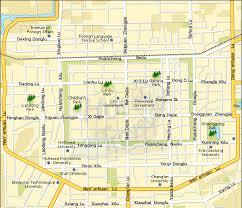 map of xi an xian maps map of xian