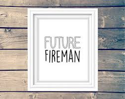 Firefighter Nursery Decor Fireman Nursery Etsy